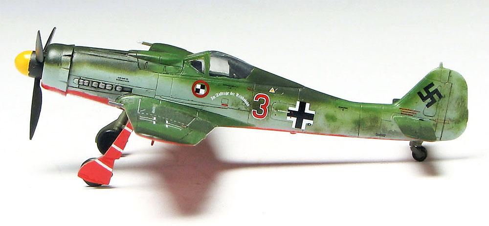 フォッケウルフ Fw190D-9 第44戦闘団プラモデル(プラッツ1/144 プラスチックモデルキットNo.PDR-004)商品画像_4