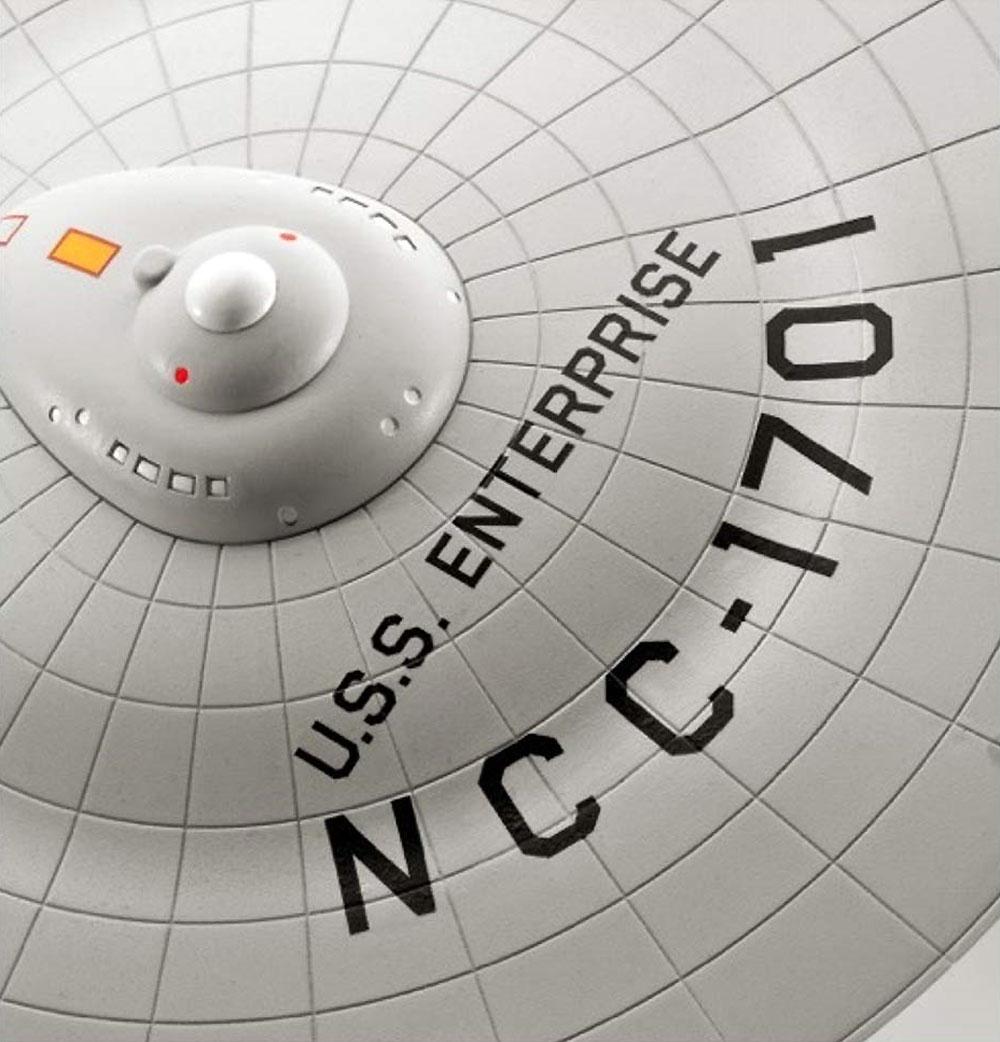 U.S.S エンタープライズ NCC-1701 (宇宙大作戦)プラモデル(レベルスタートレックNo.04991)商品画像_3