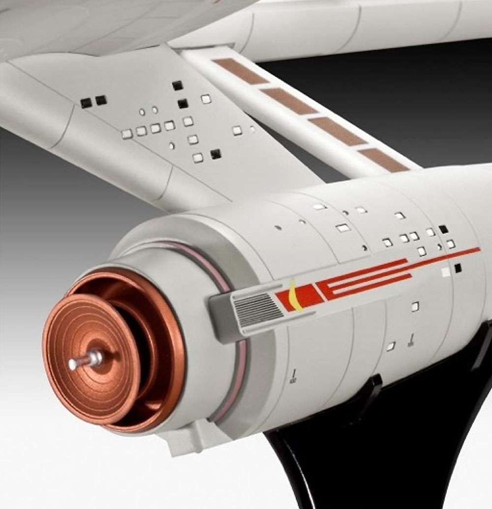 U.S.S エンタープライズ NCC-1701 (宇宙大作戦)プラモデル(レベルスタートレックNo.04991)商品画像_4