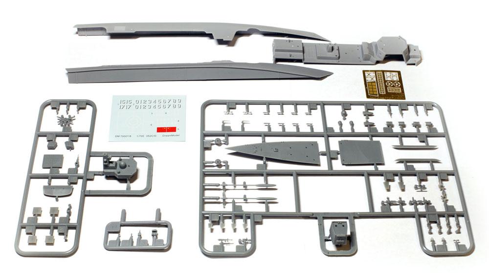 中国海軍 052D/D+ ミサイル駆逐艦プラモデル(ドリームモデル1/700 艦船モデルNo.DM70007)商品画像_1
