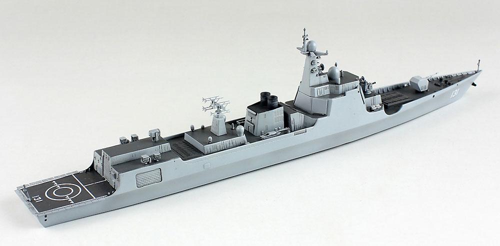 中国海軍 052D/D+ ミサイル駆逐艦プラモデル(ドリームモデル1/700 艦船モデルNo.DM70007)商品画像_4