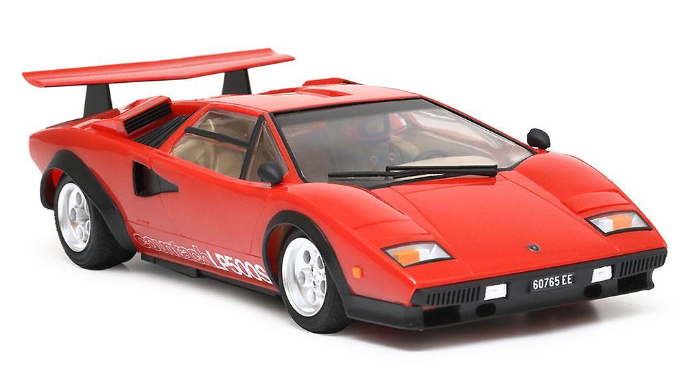 ランボルギーニ カウンタック LP500S クリヤーコートレッドボディプラモデル(タミヤ1/24 スポーツカーシリーズNo.419)商品画像_2
