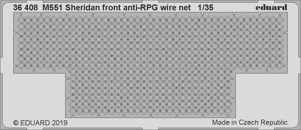 M551 シェリダン ビッグED パーツセットエッチング(エデュアルド1/35 BIG ED (AFV)No.BIG3595)商品画像_4