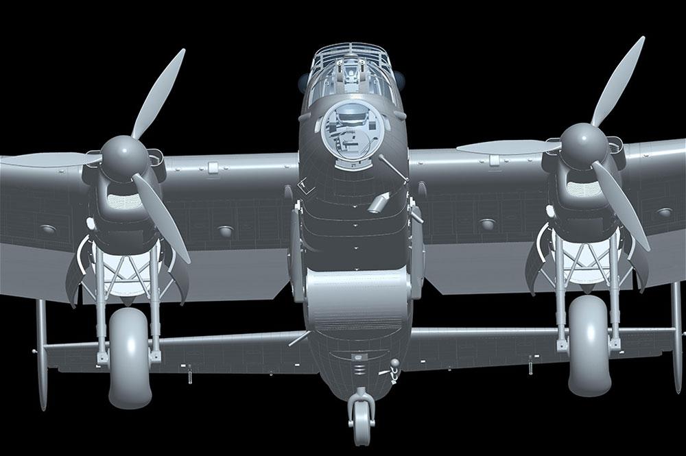 アブロ ランカスター B Mk.3 ダムバスタープラモデル(HKモデル1/32 エアクラフトNo.01E011)商品画像_3