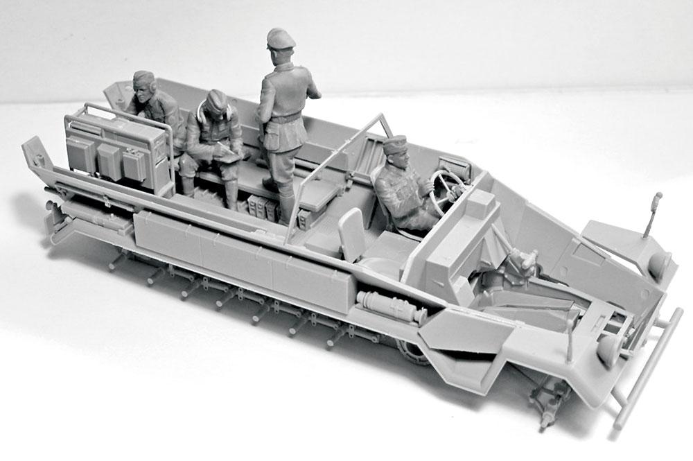 ドイツ 装甲指揮車 クルー 1939-1942プラモデル(ICM1/35 ミリタリービークル・フィギュアNo.35644)商品画像_2