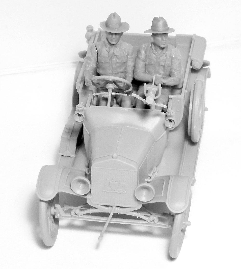 アンザック ドライバー 1917-1918プラモデル(ICM1/35 ミリタリービークル・フィギュアNo.35707)商品画像_3