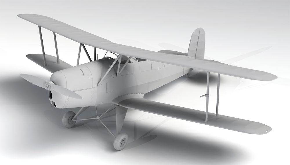 ビュッカー Bu131A ドイツ練習機プラモデル(ICM1/32 エアクラフトNo.32033)商品画像_1