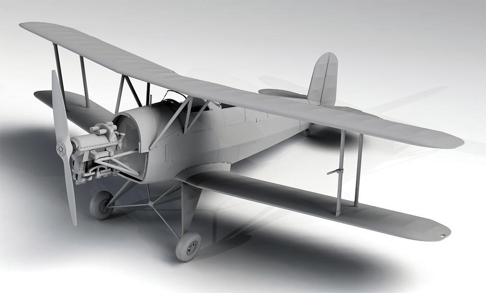 ビュッカー Bu131A ドイツ練習機プラモデル(ICM1/32 エアクラフトNo.32033)商品画像_4