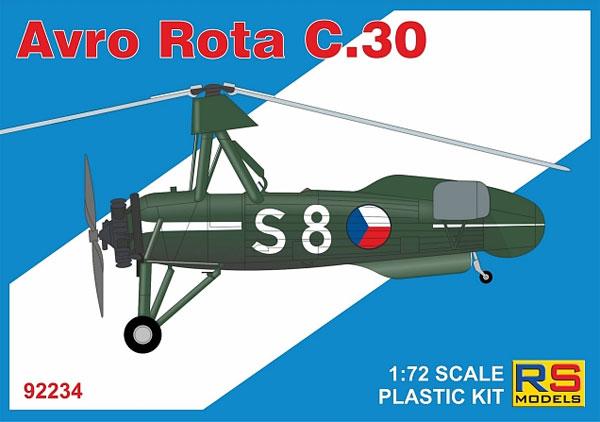 アブロ ロータ C.30プラモデル(RSモデル1/72 エアクラフト プラモデルNo.92234)商品画像
