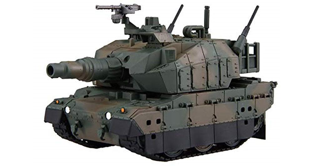 10式戦車 ノーマル/ドーザー付き エッチングパーツ付きプラモデル(フジミちび丸ミリタリーNo.SPOT-008)商品画像_3