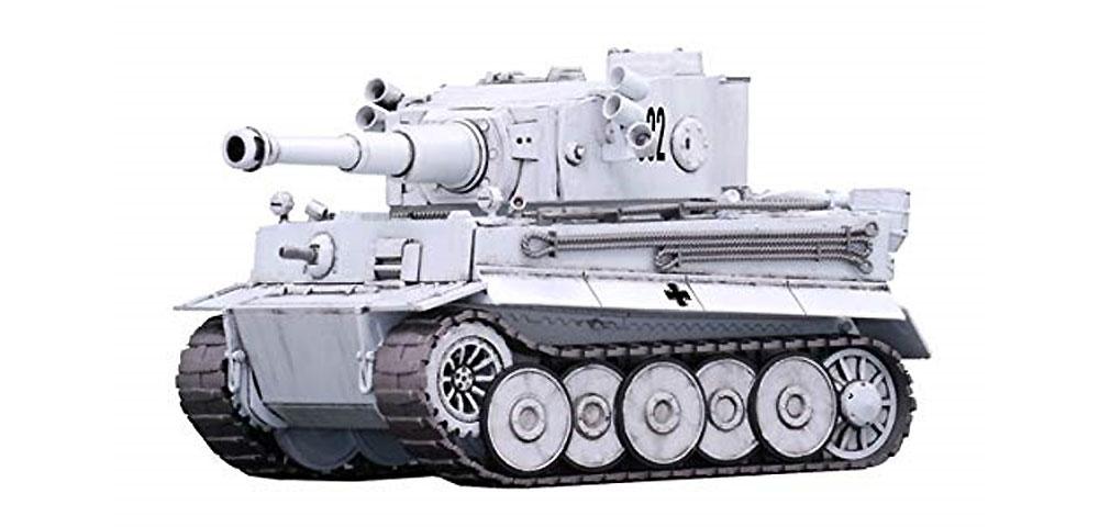 ティーガー 1 東部戦線仕様 エッチングパーツ付きプラモデル(フジミちび丸ミリタリーNo.SPOT-009)商品画像_3