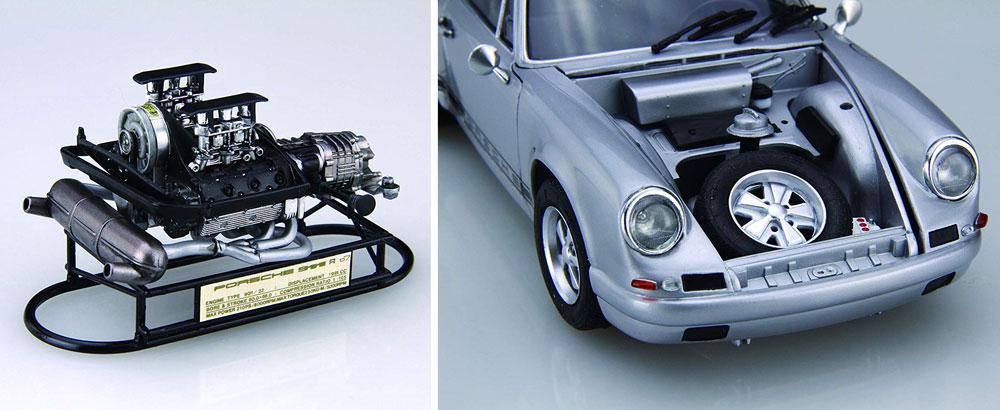 ポルシェ 911R クーペ '67プラモデル(フジミ1/24 リアルスポーツカー シリーズNo.121)商品画像_3