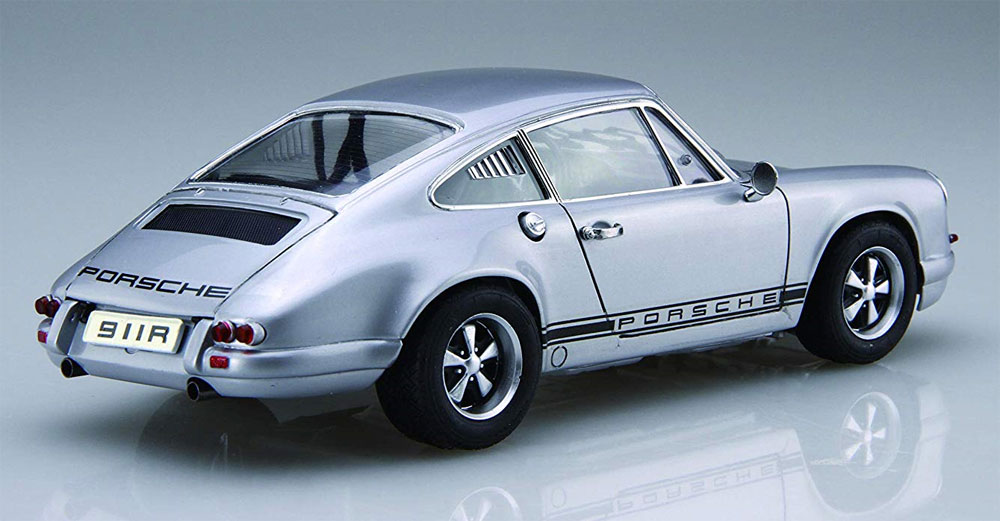 ポルシェ 911R クーペ '67プラモデル(フジミ1/24 リアルスポーツカー シリーズNo.121)商品画像_4
