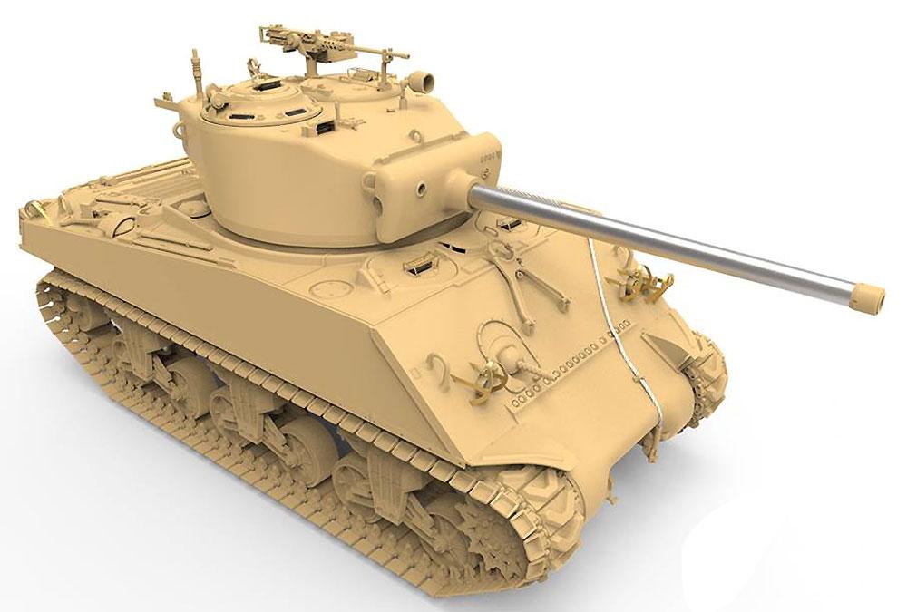 アメリカ中戦車 M4A3(76)W シャーマンプラモデル(MENG-MODEL1/35 ティラノサウルス シリーズNo.TS-043)商品画像_2