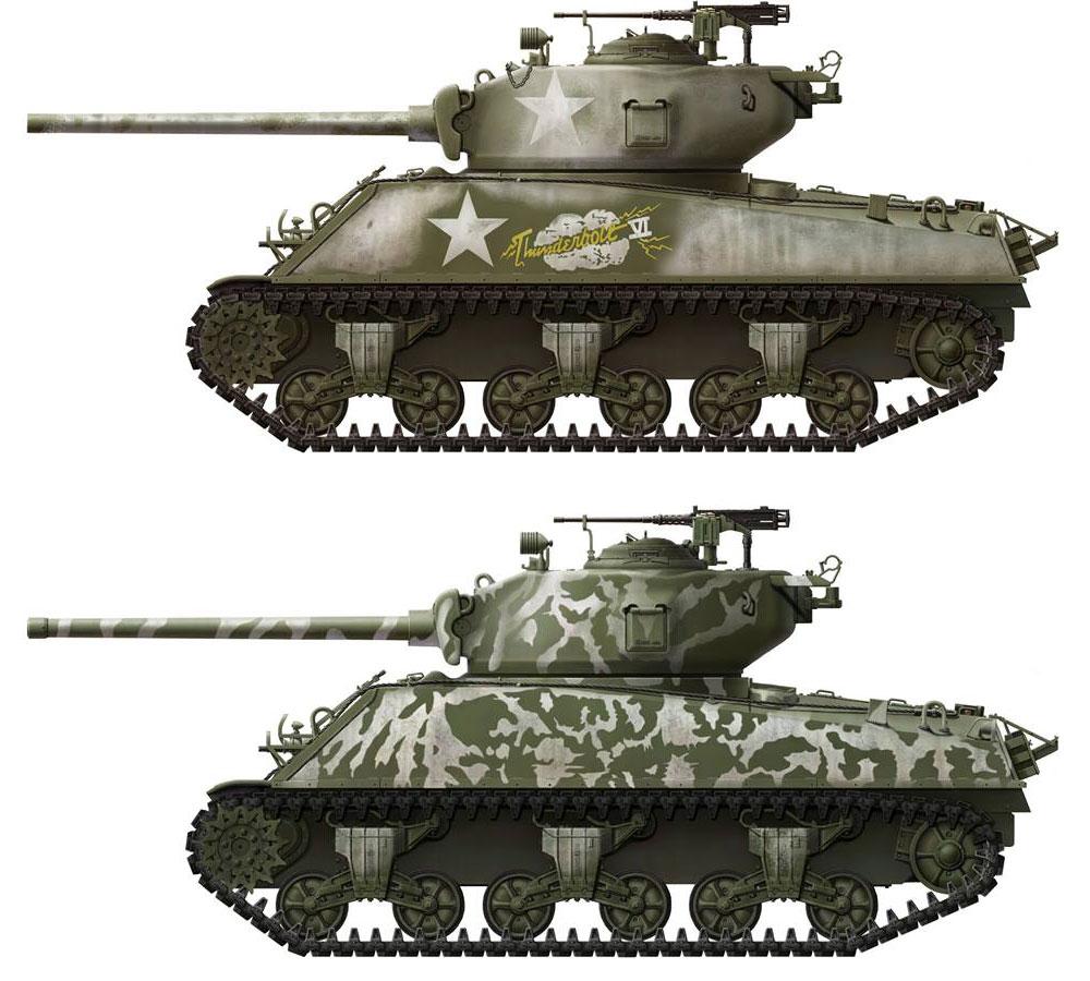アメリカ中戦車 M4A3(76)W シャーマンプラモデル(MENG-MODEL1/35 ティラノサウルス シリーズNo.TS-043)商品画像_3