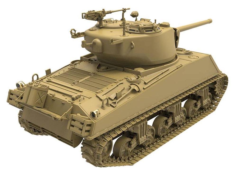 アメリカ中戦車 M4A3(76)W シャーマンプラモデル(MENG-MODEL1/35 ティラノサウルス シリーズNo.TS-043)商品画像_4