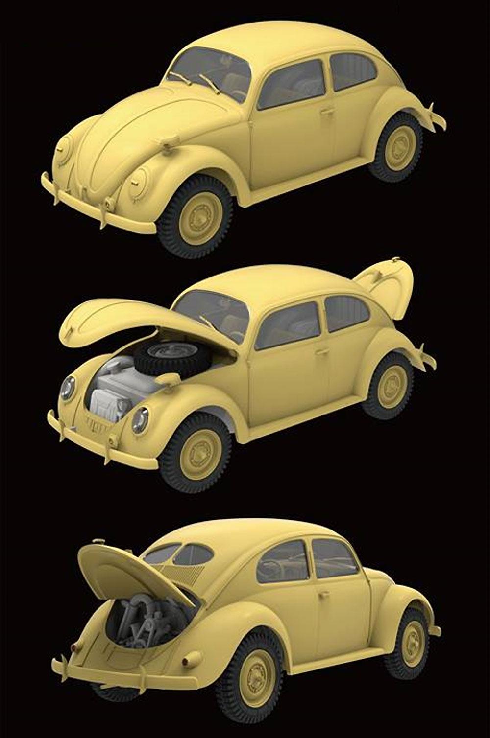 ドイツ軍 スタッフカー タイプ82Eプラモデル(ライ フィールド モデル1/35 AFVNo.5023)商品画像_3