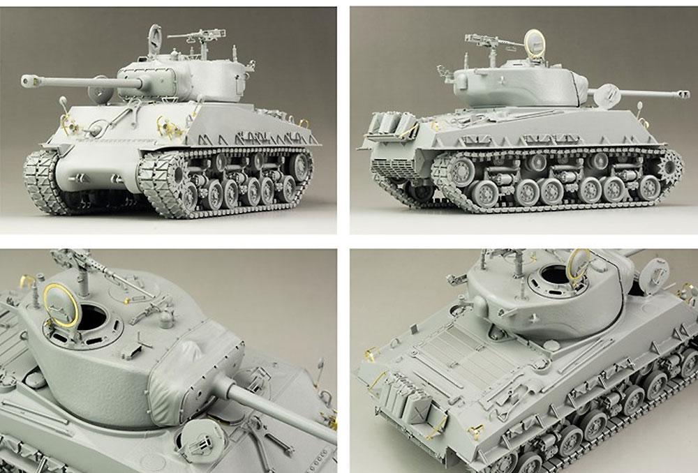 アメリカ中戦車 M4A3E8 シャーマン イージーエイト w/可動式履帯プラモデル(ライ フィールド モデル1/35 Military Miniature SeriesNo.5028)商品画像_4