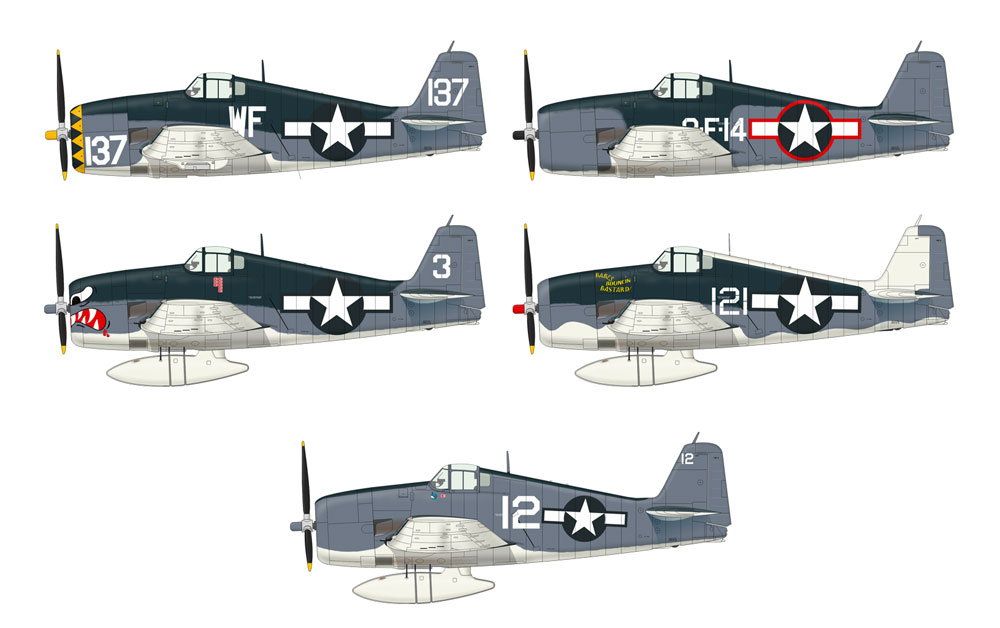グラマン F6F-3 ヘルキャットプラモデル(エデュアルド1/72 プロフィパックNo.7074)商品画像_2