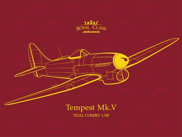 ホーカー テンペスト Mk.5プラモデル(エデュアルド1/48 ロイヤルクラスNo.R0018)商品画像