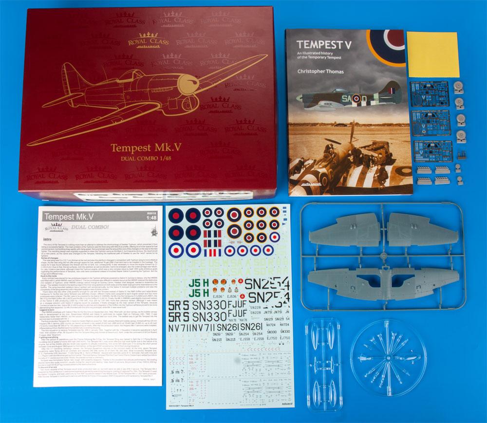 ホーカー テンペスト Mk.5プラモデル(エデュアルド1/48 ロイヤルクラスNo.R0018)商品画像_1