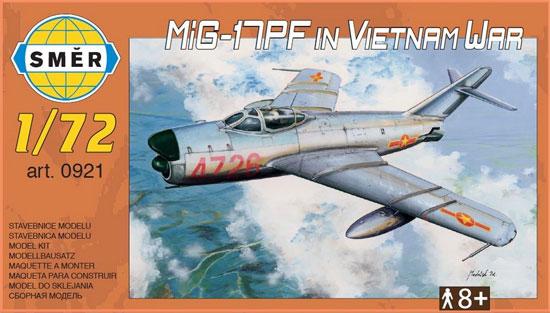 MiG-17PF ベトナム戦争プラモデル(スメール1/72 エアクラフト プラモデルNo.0921)商品画像