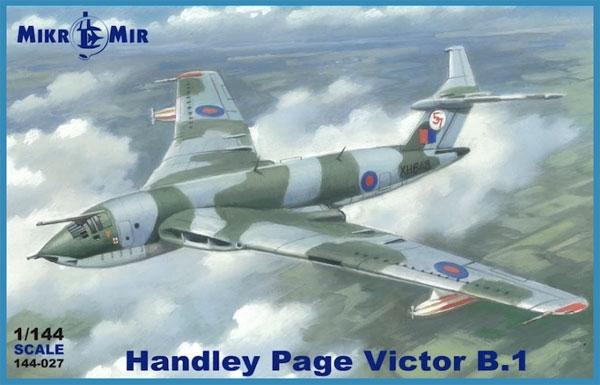 ハンドレページ ヴィクター B.1プラモデル(ミクロミル1/144 エアクラフトNo.144-027)商品画像
