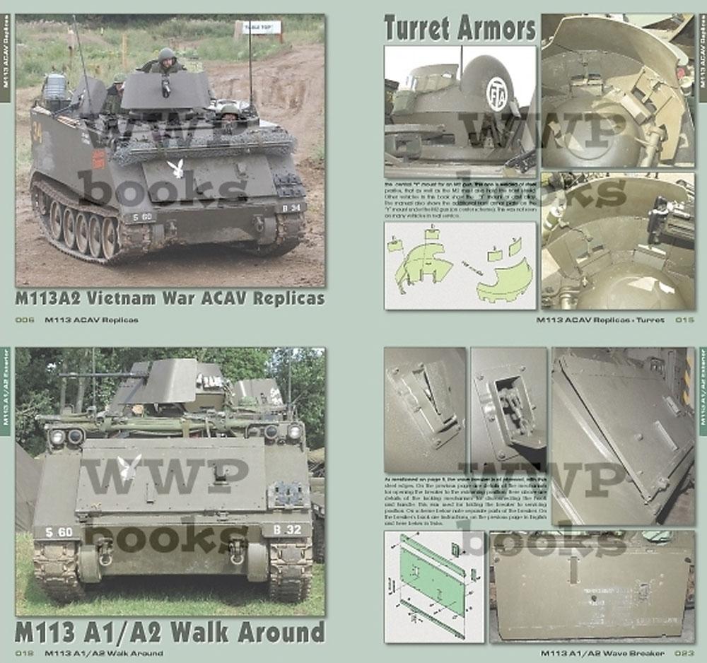 M113 装甲兵員輸送車 前期型 イン ディテール本(WWP BOOKSPHOTO MANUAL FOR MODELERS Green lineNo.G060)商品画像_1
