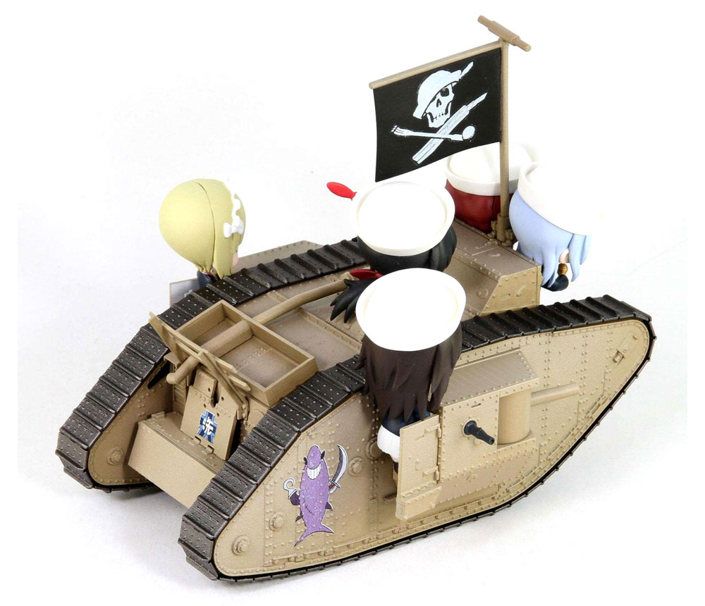 Mk.4戦車 エンディングVer. (ガールズ&パンツァー 最終章)完成品(ピットロードガールズ&パンツァーNo.PD083)商品画像_2