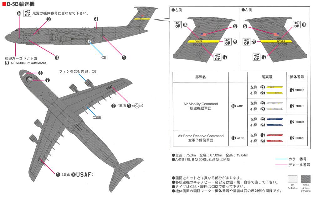 アメリカ空軍機セット 2プラモデル(ピットロードスカイウェーブ S シリーズNo.S047)商品画像_1
