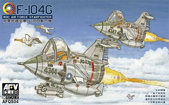 中華民国空軍 F-104G スターファイタープラモデル(AFV CLUBディフォルメ飛行機 QシリーズNo.AFQS04)商品画像
