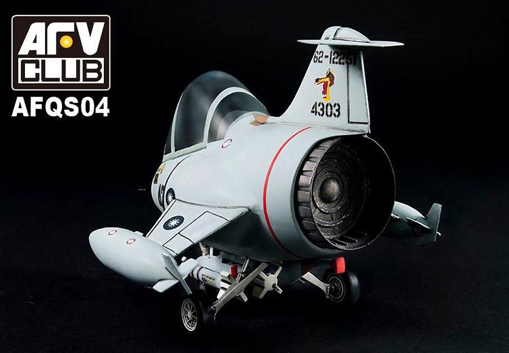 中華民国空軍 F-104G スターファイタープラモデル(AFV CLUBディフォルメ飛行機 QシリーズNo.AFQS04)商品画像_2