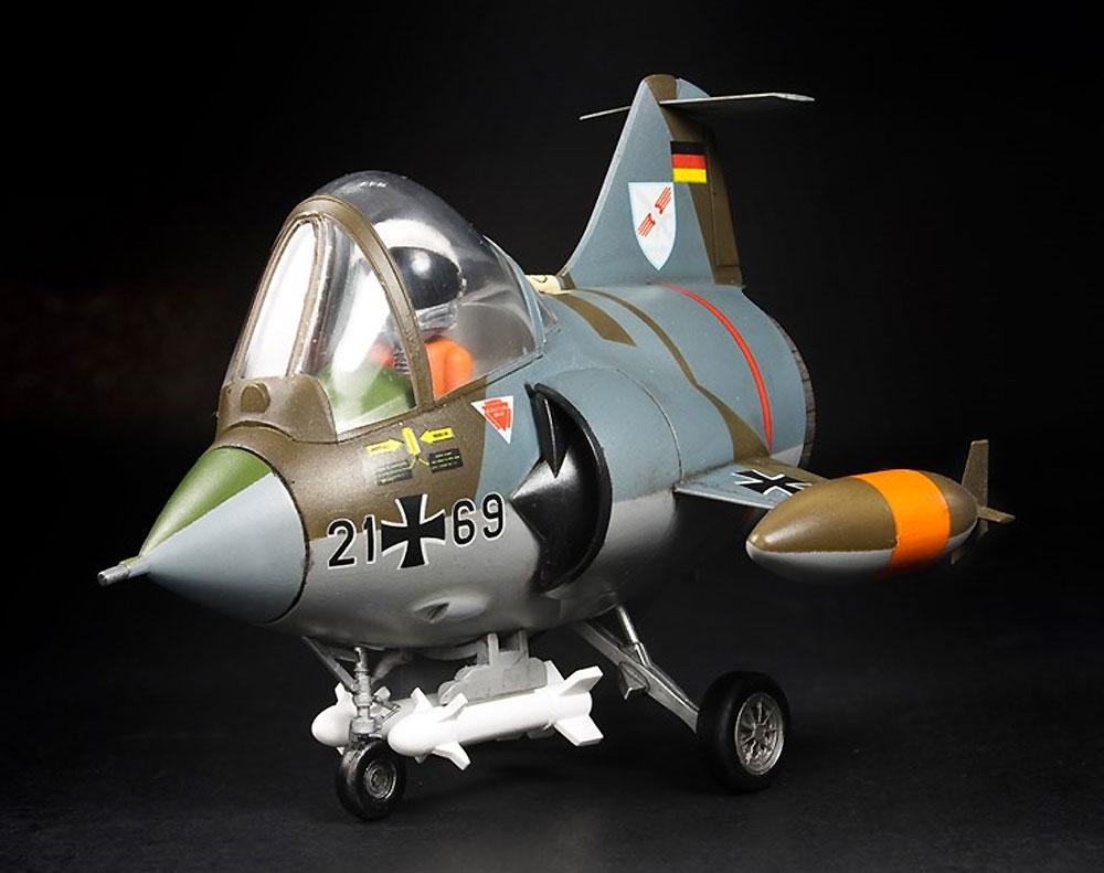 西ドイツ空軍・海軍 F-104G スターファイタープラモデル(AFV CLUBディフォルメ飛行機 QシリーズNo.AFQS06)商品画像_2