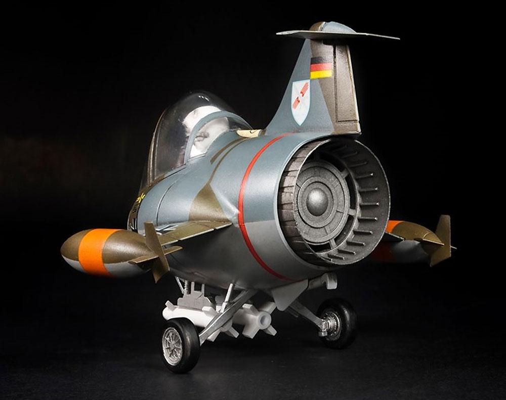 西ドイツ空軍・海軍 F-104G スターファイタープラモデル(AFV CLUBディフォルメ飛行機 QシリーズNo.AFQS06)商品画像_3