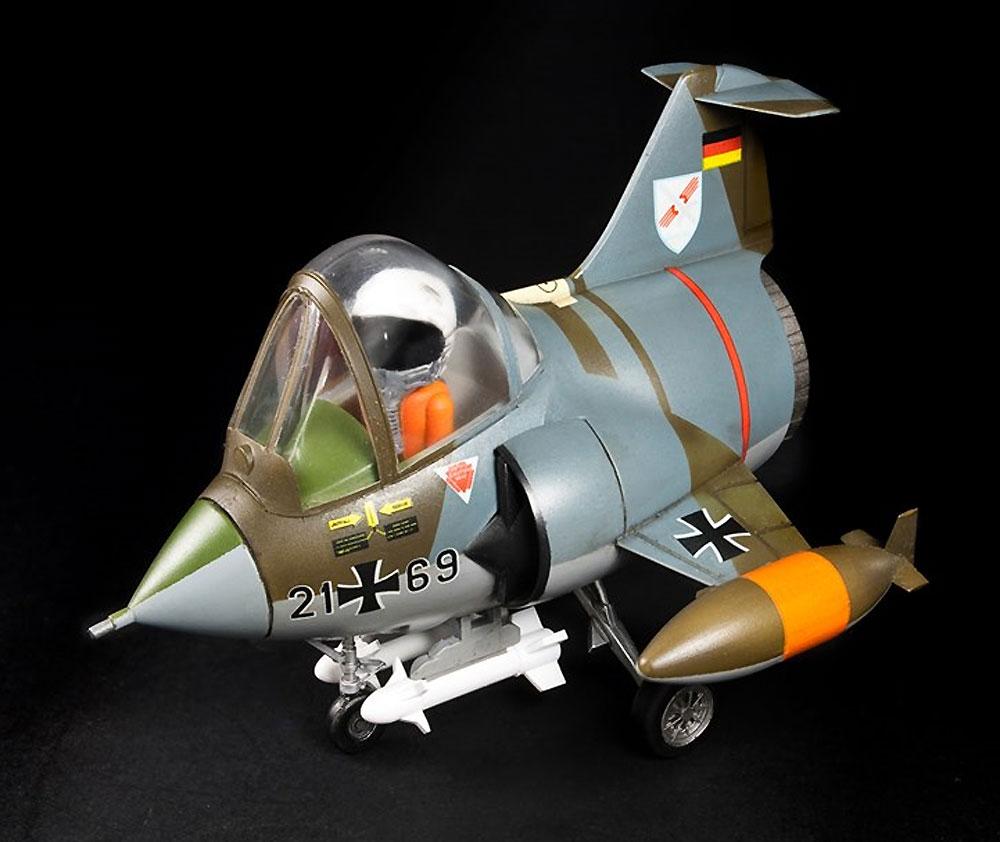 西ドイツ空軍・海軍 F-104G スターファイタープラモデル(AFV CLUBディフォルメ飛行機 QシリーズNo.AFQS06)商品画像_4