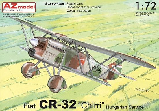 フィアット CR-32 ハンガリー空軍プラモデル(AZ model1/72 エアクラフト プラモデルNo.AZ7613)商品画像