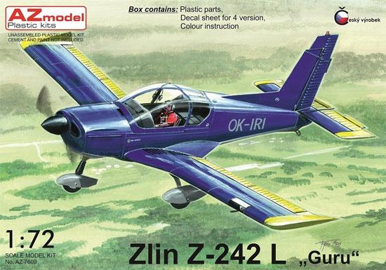 ズリーン Z-242L グルプラモデル(AZ model1/72 エアクラフト プラモデルNo.AZ7609)商品画像