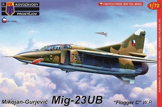 MiG-23UB フロッガーC ワルシャワ条約機構加盟国プラモデル(KPモデル1/72 エアクラフト プラモデルNo.KPM0140)商品画像