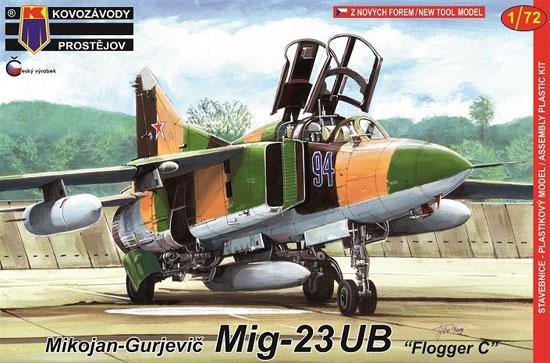 MiG-23UB フロッガーCプラモデル(KPモデル1/72 エアクラフト プラモデルNo.KPM0141)商品画像