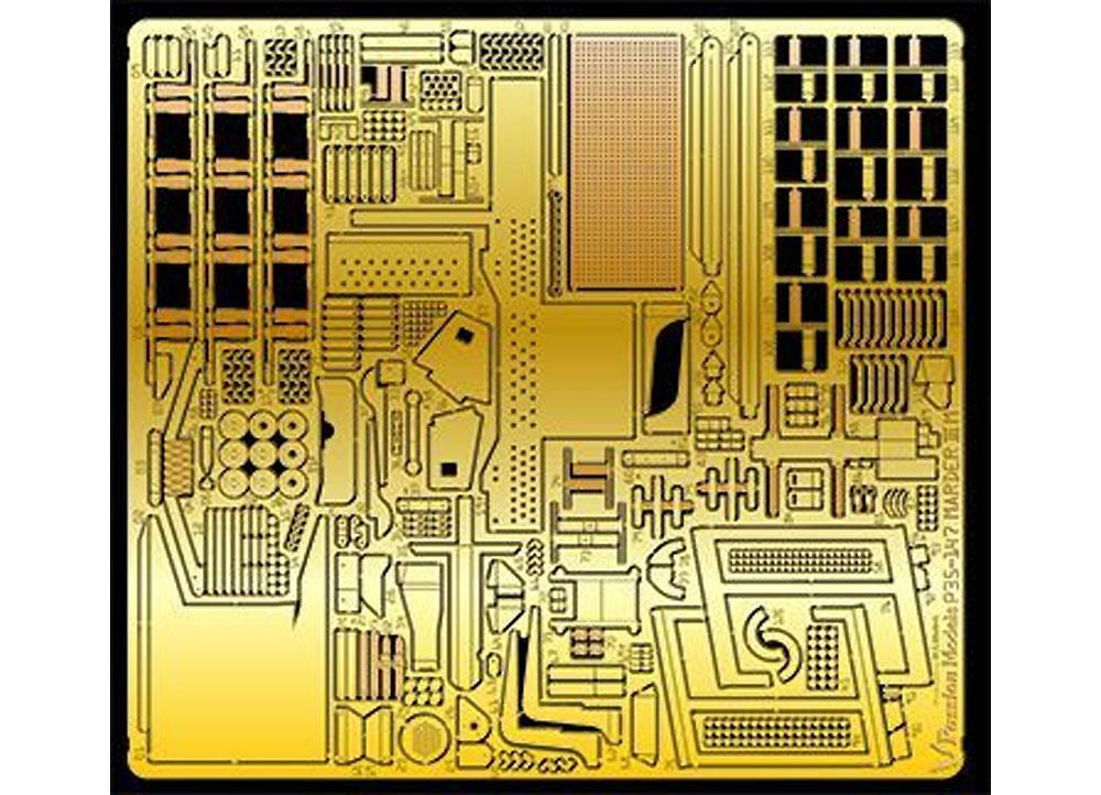 マーダー 3M用 エッチングパーツ (タミヤ MM35364 35255)エッチング(パッションモデルズ1/35 シリーズNo.P35-147)商品画像_1