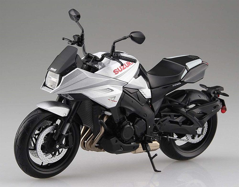 スズキ GSX-S1000S KATANA メタリックミスティックシルバー完成品(アオシマ1/12 完成品バイクシリーズNo.106174)商品画像_2
