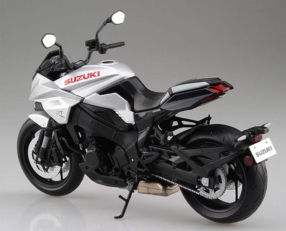 スズキ GSX-S1000S KATANA メタリックミスティックシルバー完成品(アオシマ1/12 完成品バイクシリーズNo.106174)商品画像_3