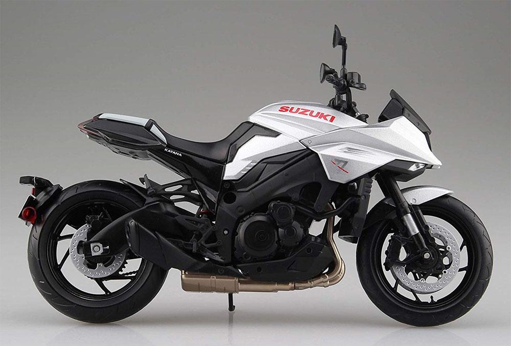 スズキ GSX-S1000S KATANA メタリックミスティックシルバー完成品(アオシマ1/12 完成品バイクシリーズNo.106174)商品画像_4