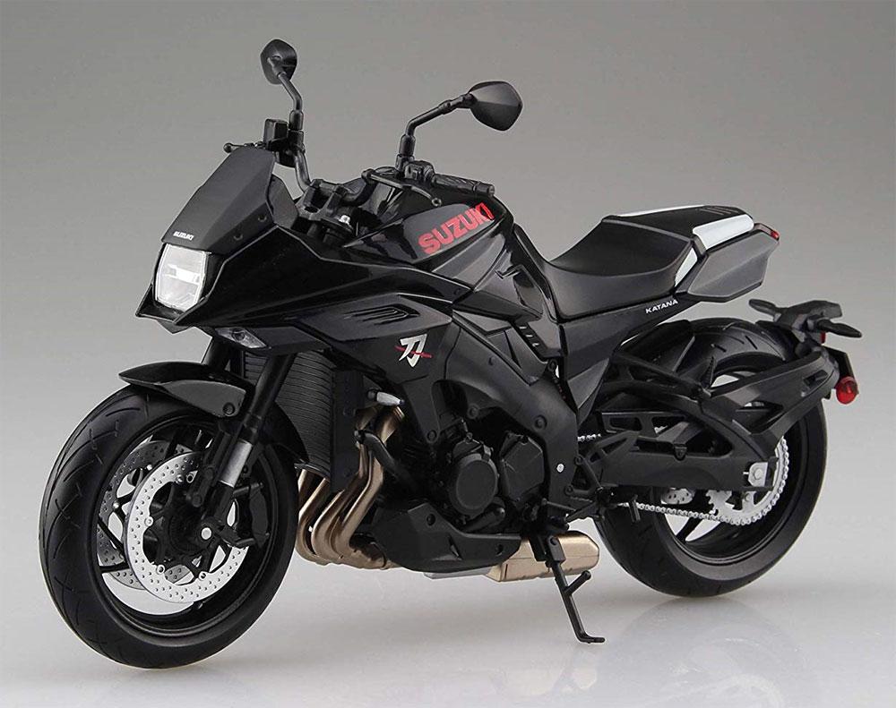 スズキ GSX-S1000S KATANA グラススパークルブラック完成品(アオシマ1/12 完成品バイクシリーズNo.106181)商品画像_2