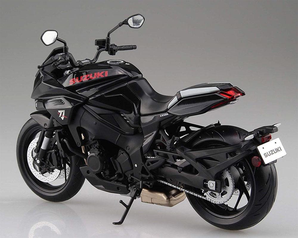 スズキ GSX-S1000S KATANA グラススパークルブラック完成品(アオシマ1/12 完成品バイクシリーズNo.106181)商品画像_3