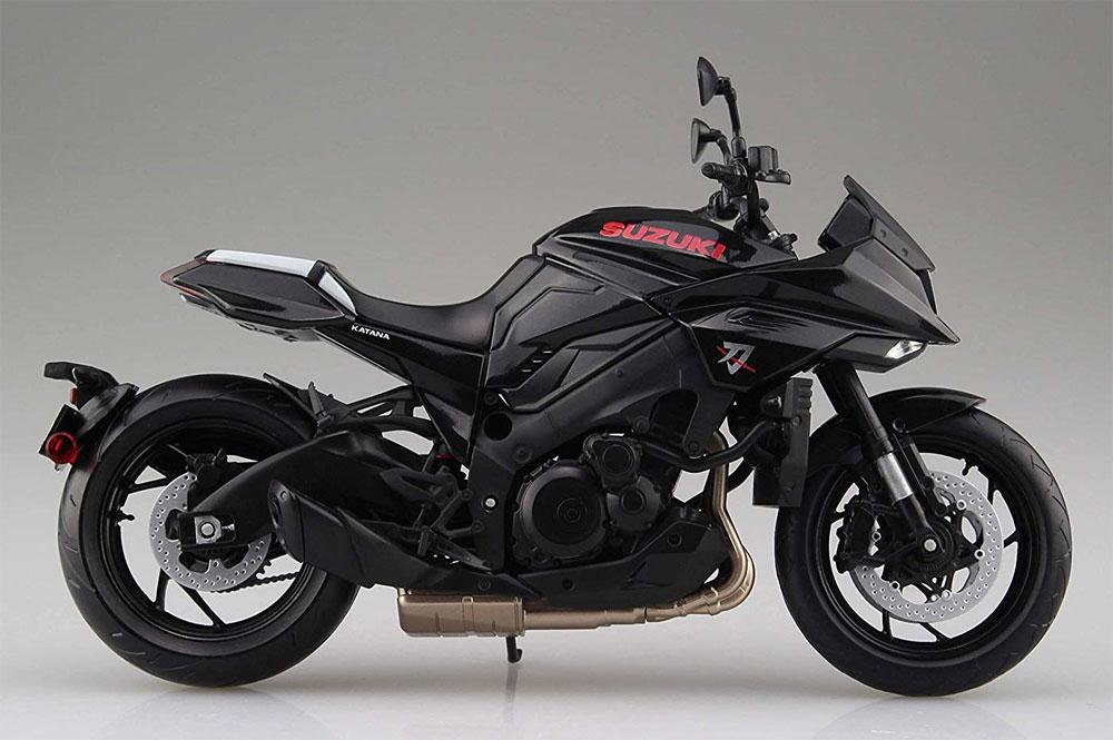 スズキ GSX-S1000S KATANA グラススパークルブラック完成品(アオシマ1/12 完成品バイクシリーズNo.106181)商品画像_4