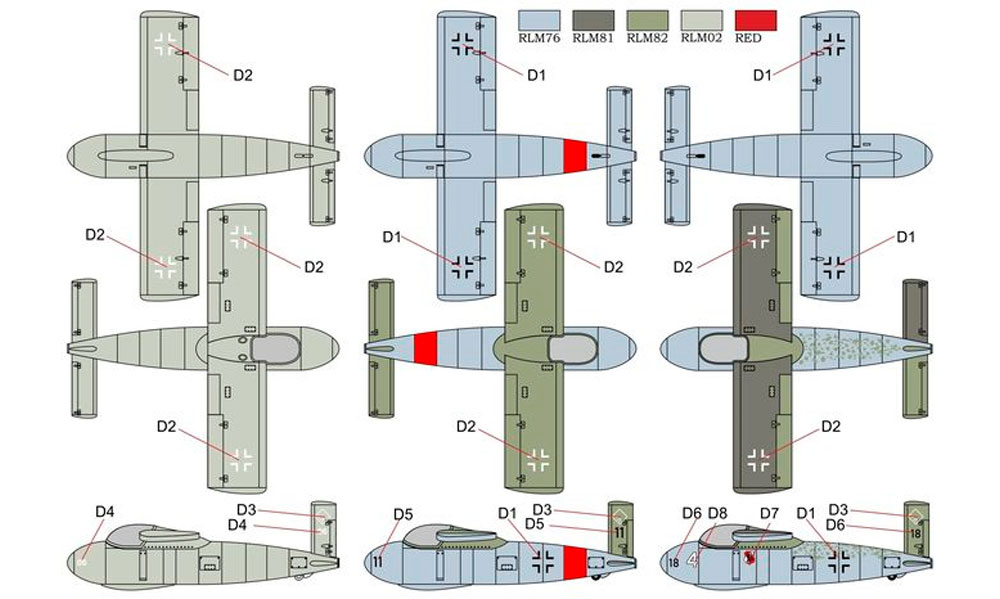 メッサーシュミット P-1103 ロケット戦闘機プラモデル(ブレンガン1/72 Plastic kitsNo.BRP72036)商品画像_1