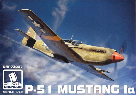 P-51 マスタング 1aプラモデル(ブレンガン1/72 Plastic kitsNo.BRP72037)商品画像