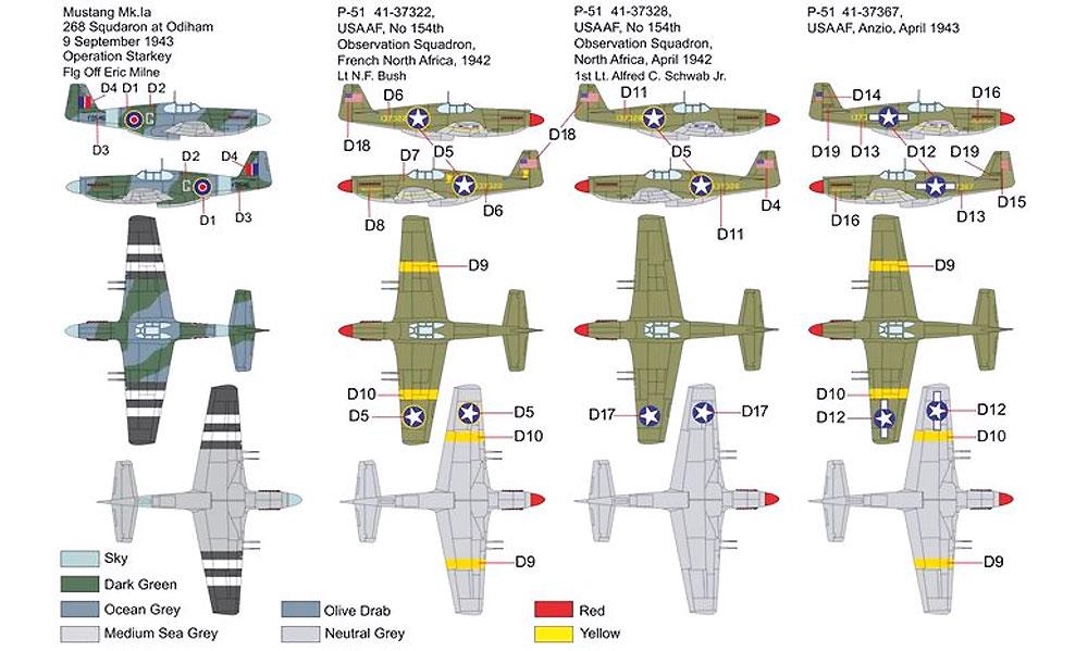 P-51 マスタング 1aプラモデル(ブレンガン1/72 Plastic kitsNo.BRP72037)商品画像_1
