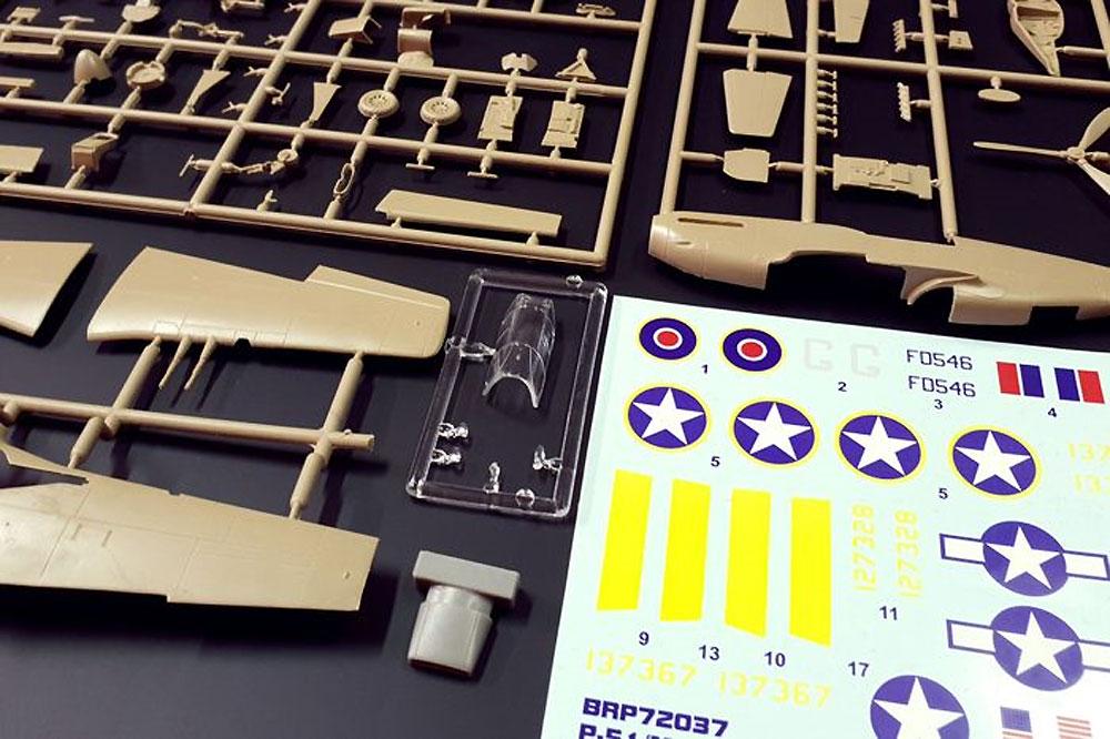 P-51 マスタング 1aプラモデル(ブレンガン1/72 Plastic kitsNo.BRP72037)商品画像_2